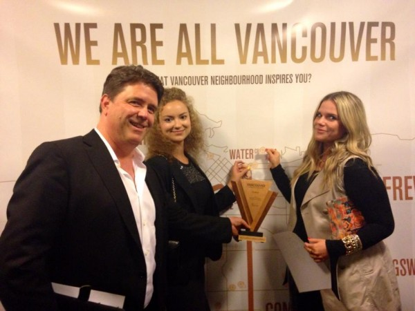 Vancouver Award of Excellence_FundRazr Team